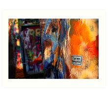 You Are Beautiful (Cadillac Ranch) Art Print