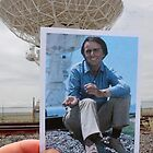 Carl Sagan at the Very Large Array by Daniel Owens
