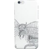 the sea monster of sadness iPhone Case/Skin