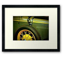 Spare tire Framed Print