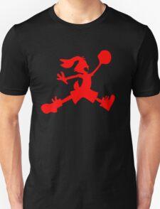 Hare Jordan [Red Logo] Unisex T-Shirt