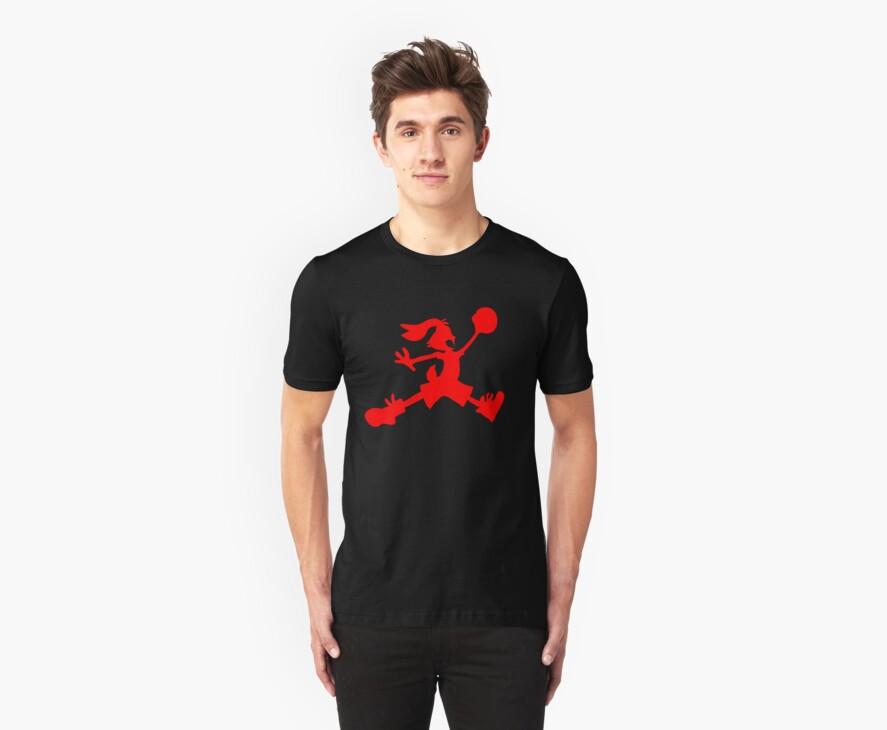 Hare Jordan [Red Logo] by KickAss University