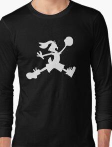 Hare Jordan [White Logo] Long Sleeve T-Shirt