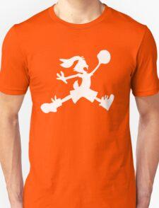 Hare Jordan [White Logo] Unisex T-Shirt
