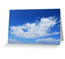 Those clouds Greeting Card
