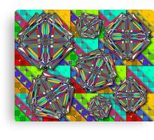 """Turán Graphs""© Canvas Print"