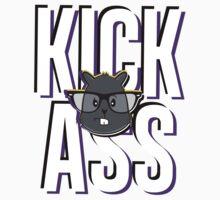 Kick Ass Colorful [Purple/Yellow] by KickAss University