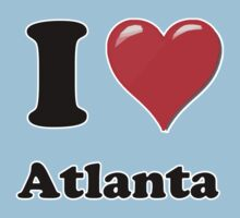 I Heart Atlanta by HighDesign