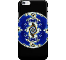 Blue Crystal Ball  iPhone Case/Skin