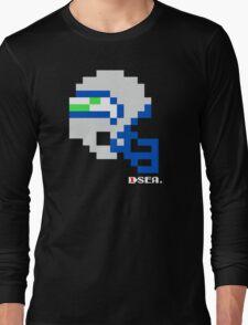 Tecmo Bowl - Seattle Seahawks - 8-bit - Mini Helmet shirt Long Sleeve T-Shirt