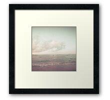calm day ver.vintage Framed Print