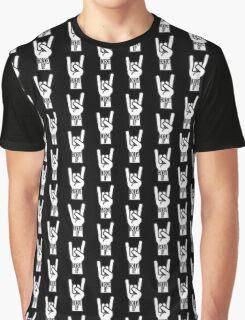 Horns Up Graphic T-Shirt