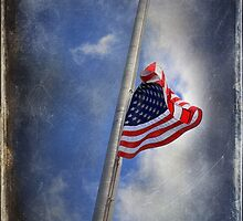 ol' glory at half mast by StoneAge