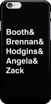 Booth& Brennan& Hodgins& Angela& Zack (white) by Nana Leonti