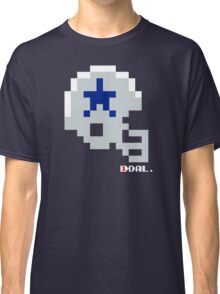 Tecmo Bowl - Dallas - 8-bit - Mini Helmet shirt Classic T-Shirt