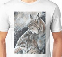 Lynx Pair  Unisex T-Shirt