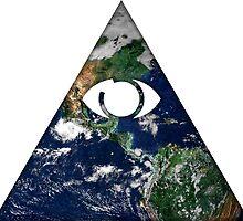 All Seeing Eye by creepyjoe