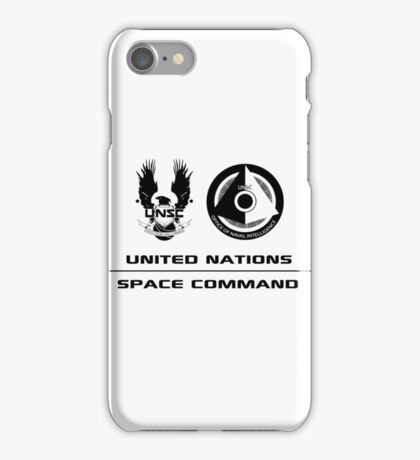 UNSC Office of Naval Intelligence iPhone Case/Skin