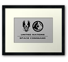 UNSC Office of Naval Intelligence Framed Print