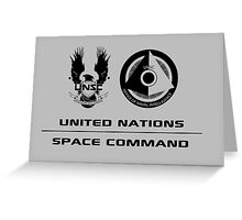 UNSC Office of Naval Intelligence Greeting Card