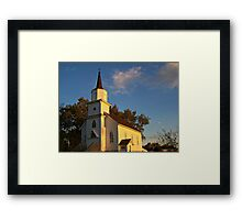 Beaver Creek Church Framed Print