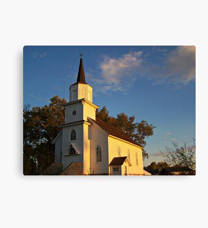 Beaver Creek Church Canvas Print
