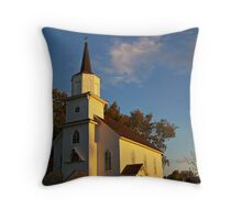 Beaver Creek Church Throw Pillow
