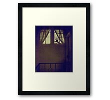 What Isn't There Is Also Scary Framed Print
