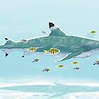 Shark Entourage by Nicolas Rix