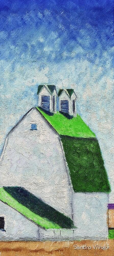 Green roof burn by Sandro Vivolo