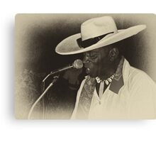 Jimmy Mamou live  Canvas Print