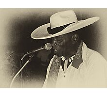 Jimmy Mamou live  Photographic Print