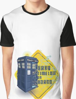Doctor Who Tardis - Baby Timelord on Board Graphic T-Shirt