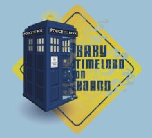 Doctor Who Tardis - Baby Timelord on Board Baby Tee