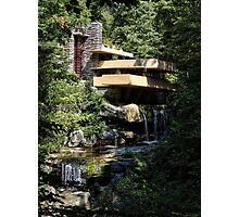 Falling Water by Frank Lloyd Wright Photographic Print