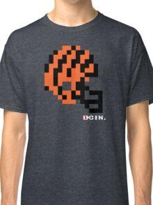 Tecmo Bowl - Cincinnati Bengals - 8-bit - Mini Helmet shirt Classic T-Shirt