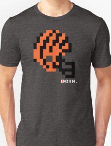 Tecmo Bowl - Cincinnati Bengals - 8-bit - Mini Helmet shirt Unisex T-Shirt