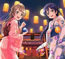 Love Live! School Idol Project - Summer Festival by star-sighs