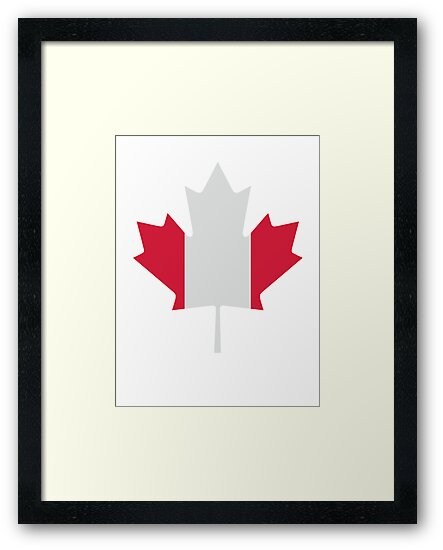 Canada maple leaf flag by Designzz