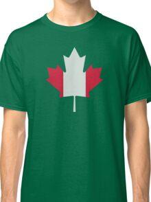 Canada maple leaf flag Classic T-Shirt