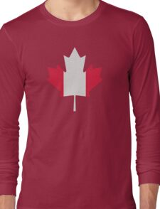 Canada maple leaf flag Long Sleeve T-Shirt