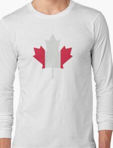 Canada maple leaf flag Long Sleeve T-Shirt