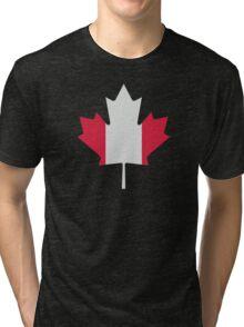 Canada maple leaf flag Tri-blend T-Shirt