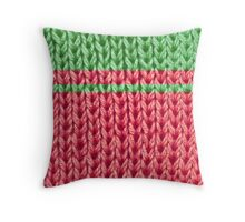 """Ugly """"Sweater"""" Throw Pillow"""