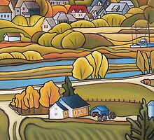 Baie-St-Paul no.3 by Josiane Gagnon