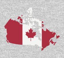 Canada map flag Kids Tee