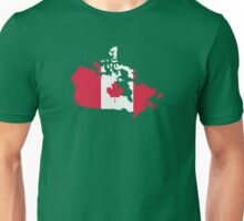 Canada map flag Unisex T-Shirt