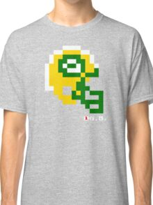 Tecmo Bowl - Green Bay - 8-bit - Mini Helmet shirt Classic T-Shirt