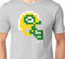 Tecmo Bowl - Green Bay - 8-bit - Mini Helmet shirt Unisex T-Shirt