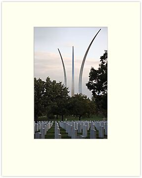 Air Force Memorial by Cora Wandel